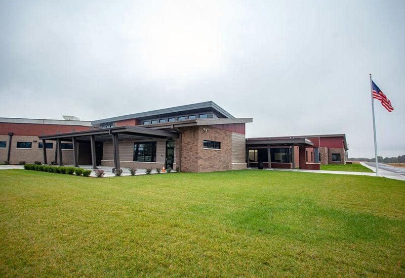 Willard Intermediate school concrete construction by Advanced Concrete Technologies