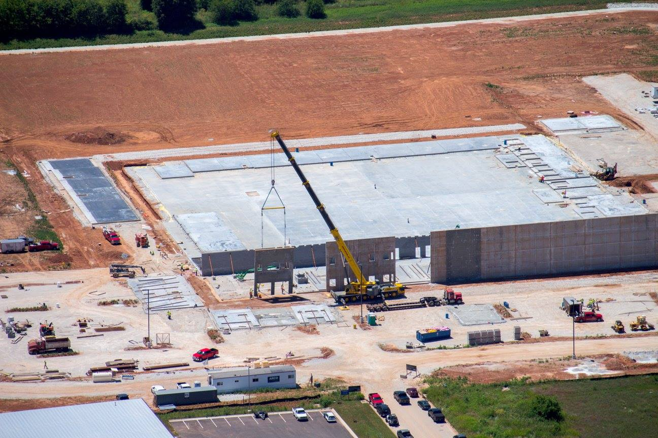 Heart of America concrete construction by Advanced Concrete Technologies
