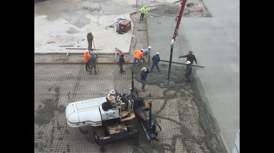 Jack Henry Branson concrete construction by Advanced Concrete Construction
