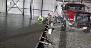 Concrete pouring company