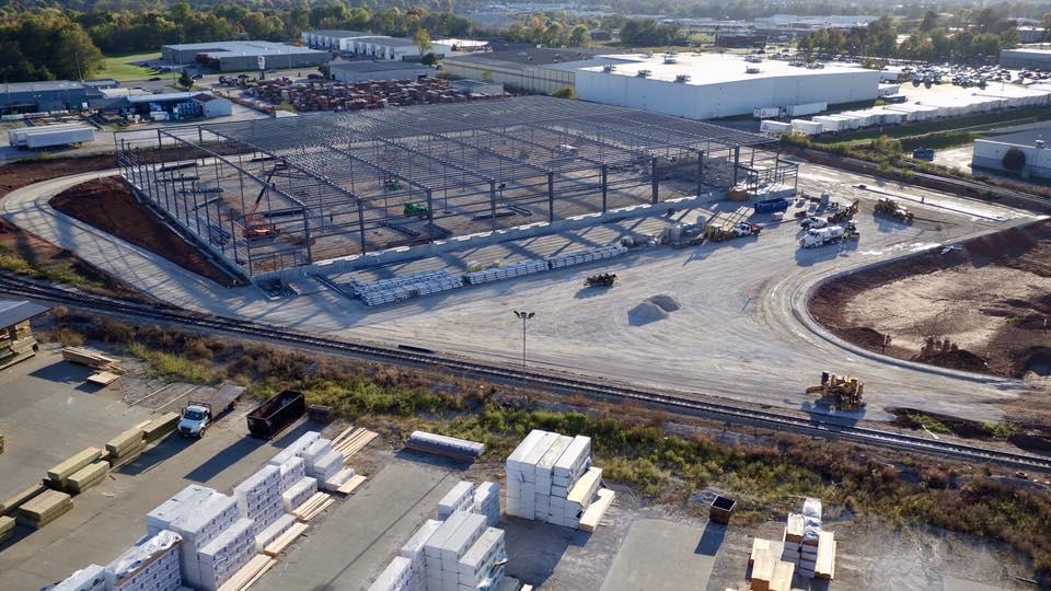 Springfield Grocers concrete construction by Advanced Concrete Technologies