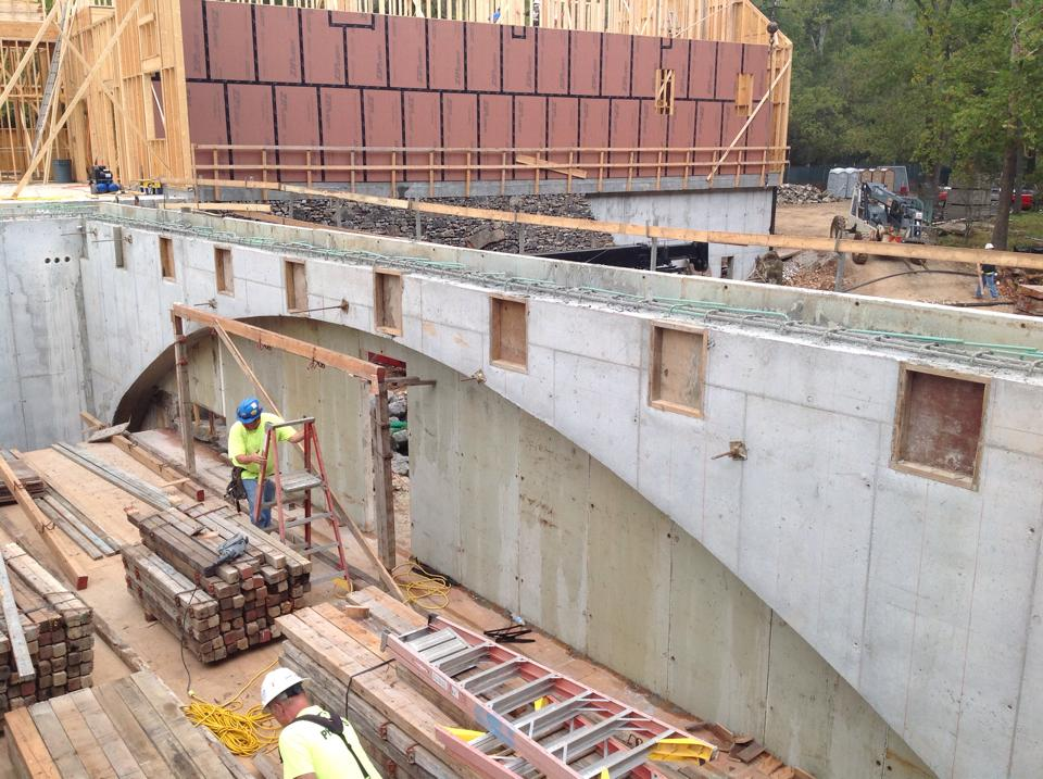 The Mill at Dogwood Canyon concrete construction by Advanced Concrete Technologies