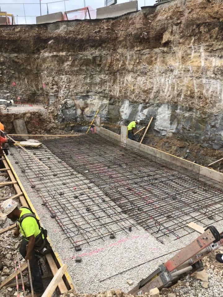 Westgate Waterpark concrete construction by Advanced Concrete Technologies