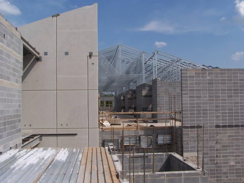 Willard High School concrete construction by Advanced Concrete Technologies
